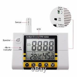 Interior Monitor Calidad del Aire Temperatura Dióxido de Carbono CO2 02000ppm