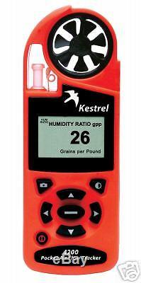 Kestrel 4200 HVAC Weather Meter- Air Flow Conversion Humidity Ratio