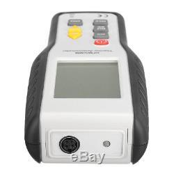 LCD Digital Handheld Thermal Anemometer CFM CMM Wind Speed Meter Air Flow Tester