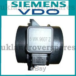 Land Rover Defender Td5 Air Flow Meter Air Maf Flow Mas Sensor Oem Vdo