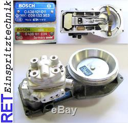 Luftmassenmesser 0438121011 BOSCH mit Mengenteiler 0438101039 Audi 80 2,0 16 V