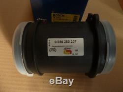 Luftmassenmesser AUDI A6 (C5) 4.2 quattro A8 (4D2) 0986280207 original BOSCH