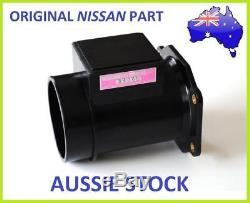 MAF for Nissan Skyline R34 Neo RB25DET AFM Air Flow Meter 22680-31U00 + PLUG
