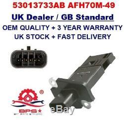 Mass Air Flow Meter Sensor 53013733AB AFH70M-49 OEM QUALITY for JEEP CHRYSLER