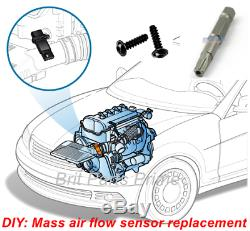 Mass Air Flow meter Sensor A6110940048 7.22684.07.0 for MERCEDES-BENZ GENUINE OE