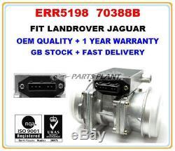 Mass Air Flow meter sensor ERR5198 for RANGE ROVER DISCOVERY 3.9 JAGUAR 4.0