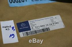 Mercedes W211 E-Klasse Leiste Stoßstange Schiene US 185 NEU NOS 2118801212