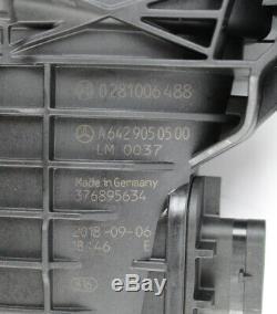 Mercedes-benz Intake Fresh Air Channel Mass Flow Meter V6 OM642 CDI A6420902242