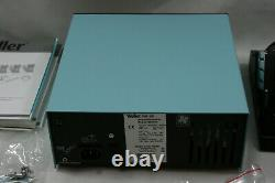 NEW Weller WR3000M Hot Air Rework Station with WR3M, HAP200, DXV80, WP80, WVP