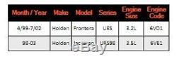 New GENUINE Air Flow Meter For Holden Frontera Jackaroo UES UBS98