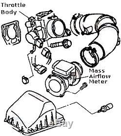 New Mass Air Flow Sensor Meter Fit Santafe Sonata Tiburon Tuscon Af10184 Afm007