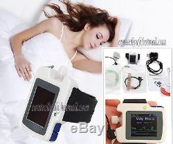 New Sleep apnea screen meter RS01, SpO2, Pulse Rate, Nose Air flow monitor, Alarm, SW