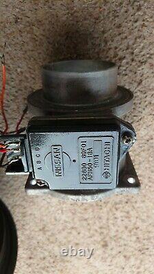 Nissan Silvia 200sx SR20DET MAF AFM Mass Air Flow Sensor Meter + Filter Adapter