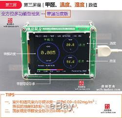 PM1.0 PM2.5 PM10 Formaldehyde HCHO Air Monitor Temperture Humidity Meter Tester
