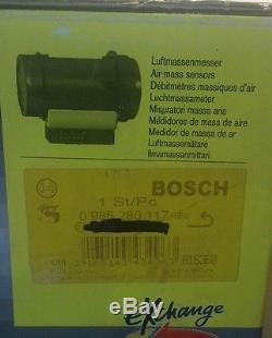 Saab Bosch 0986280117 mass air flow meter