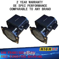 Set of 2 New Air Flow Meter sensor Skyline GTR BNR32 BCNR33 BNR34 RB26DETT GT-R