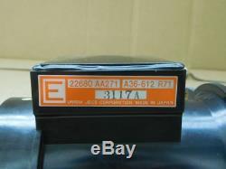 Subaru Impreza Mass Air Flow Meter Sensor Wrx Sti Ej20 Legacy 22680 Aa271