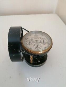Superb Vintage Air Flow Meter Instrument Casella London