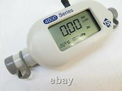 TSI Model 4040 E Mass flowmeter for gasses Air, O2, N2, Air/O2 Mixture 4040E