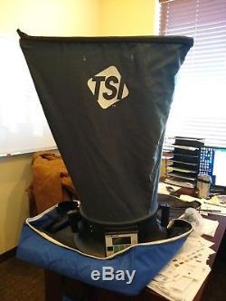 TSI accubalance air flow measuring hood Needs Calibrating Performance 100%