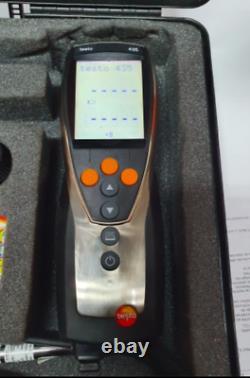 Testo 435-1 Anemometer, 40m/s Max Air Velocity Air Quality Climate Meter HVAC