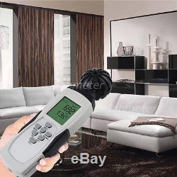 Thermometer Hygrometer Data logger Portable CO2 Indoor Air Quality Meter Monitor