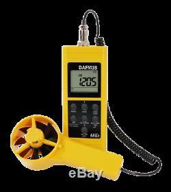 UEI DAFM3B Digital Air Flow Meter Anemometer Psychrometer