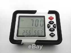 USB CO2 CARBON DIOXIDE Air Temperature Humidity DataLogger Meter Monitor LCD/PC