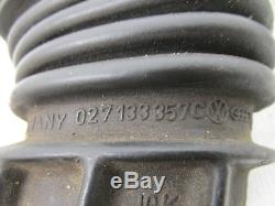 VW SCIROCCO 16V INTAKE BOOT Fuel Injection Air Flow Meter Boot 027133357A OEM