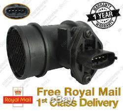 Vauxhall Corsa C Mk2 1.0,1.2,1.4 Mass Air Flow Meter Sensor 2000on 0280218001
