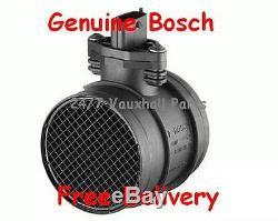Vauxhall Vxr Air Flow Meter Astra Zafira Turbo Z20leh Genuine Bosch 0280218211