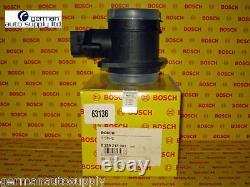 Volkswagen Air Mass Sensor, MAF BOSCH 0280218002, 63136 NEW OEM VW