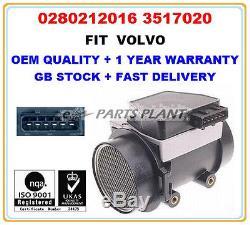Volvo 240 740 940 Mass Air Flow meter Sensor 0280212016 3517020 OE QUALITY PARTS