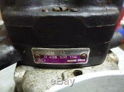 Vw Cabriolet Rabbit Mk1 Bosch Fuel Distributor Air Flow Meter Cis Mount Boot